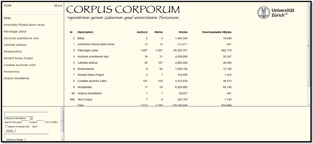 corpus corporum