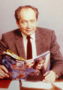 Nic Weber *6.06.1926 – 11.09.2013, Journalist, Writer, Publisher and Program Director Source: RTL Archives