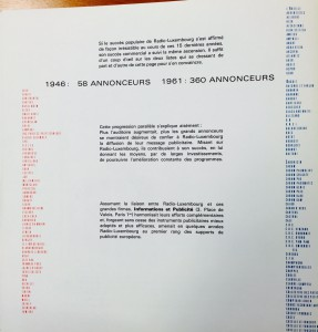 List of products advertised on Radio from: Radio Luxembourg, The station of the stars, 1965