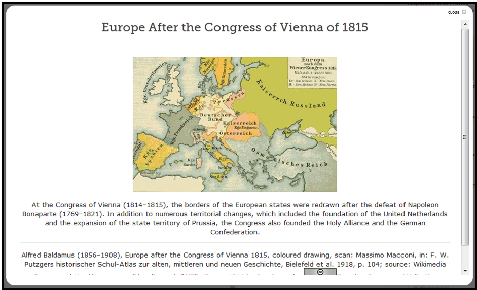 Europe after the Congress of Vienna1